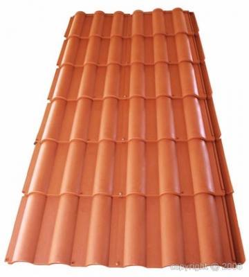 Placa de teja hobby placa imitaci n a teja de alta calidad for Placa imitacion teja