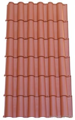 Placa de teja etrusca placa imitaci n a teja de alta calidad for Placa imitacion teja